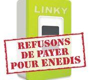 Linky  Refusons de payer pour Enedis !