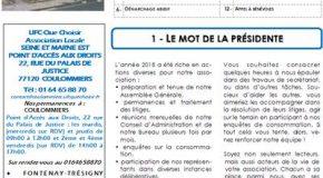 Bulletin CONSOM&VOUS N° 37