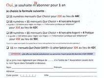 Offre spéciale «PREMIER ABONNEMENT»